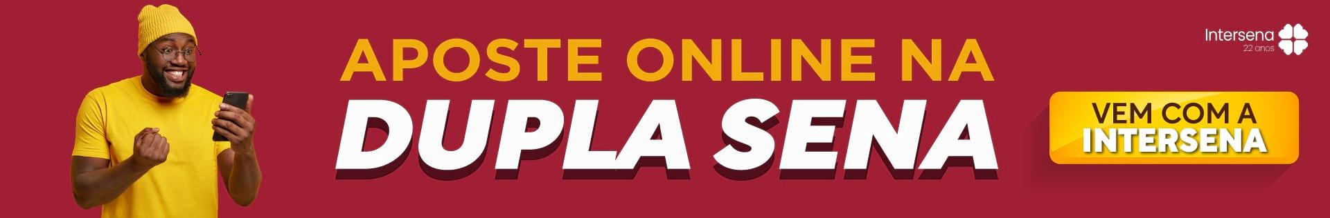 Aposte online na Dupla Sena