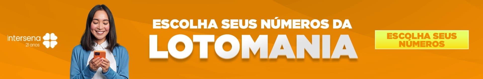 Aposte online na Lotomania