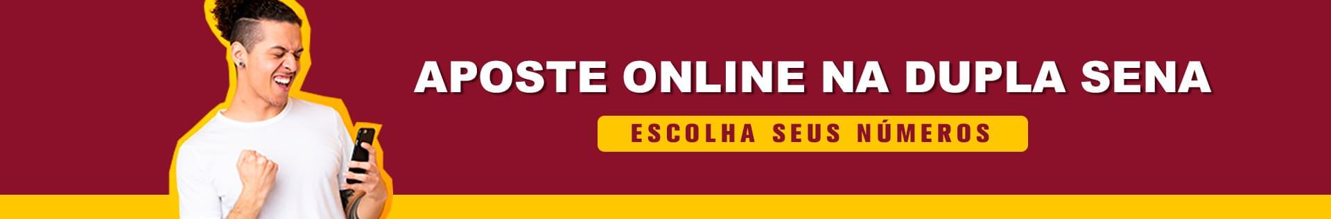 Aposte Online na  Dupla Sena com a Intersena