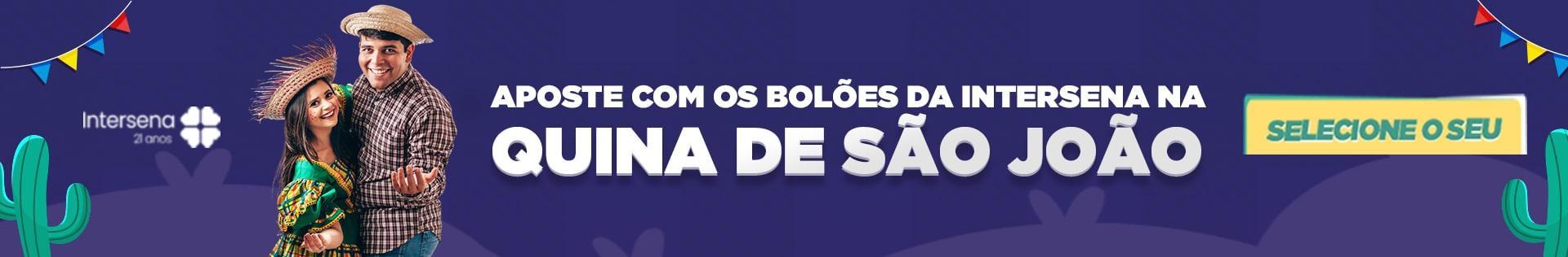Bolão Quina de São João com a Intersena