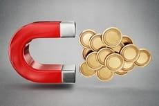 Lei da Atração, Dinheiro e Loteria