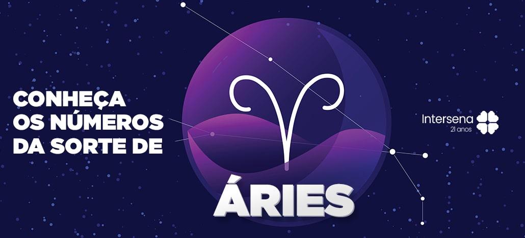 Números da sorte para Aries | Intersena