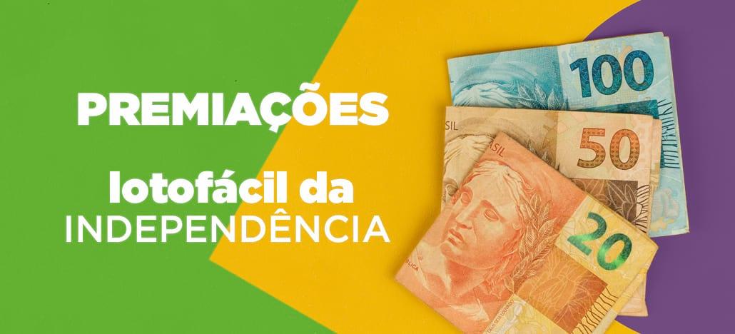 Premiações da Lotofácil da Independência